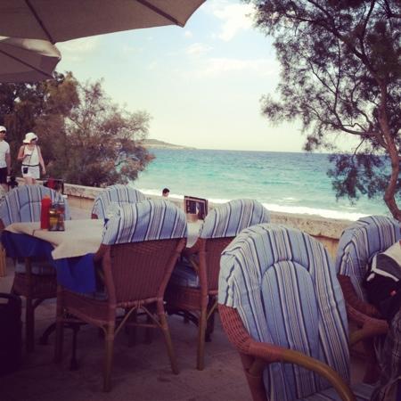 Bibabo Restaurante : Lovely view.