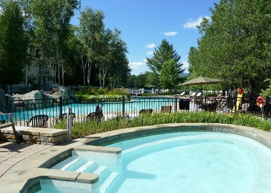 Chateau Beauvallon Mont Tremblant: Spa et piscine