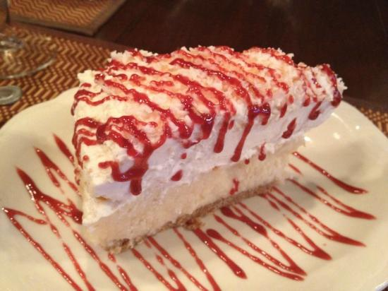 Mountview Bistro at Fontana Village Resort: Coconut Cream Pie