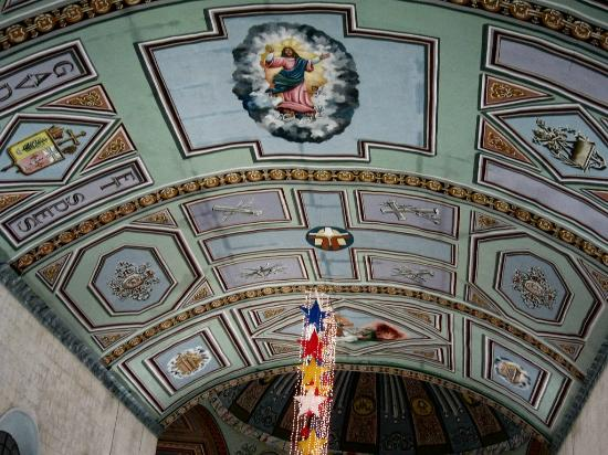 Maasin Cathedral ceiling