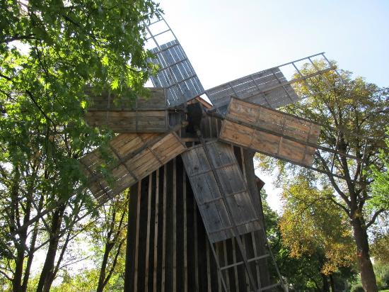 Village Museum (Muzeul Satului): Wind Mill