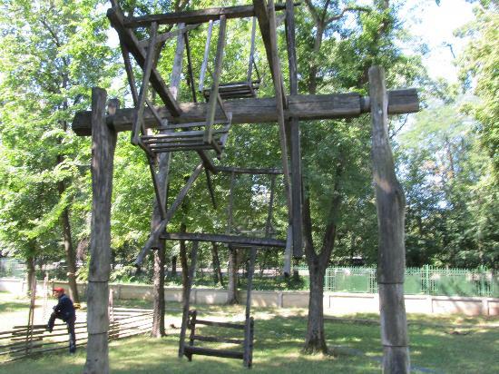 Village Museum (Muzeul Satului): Old time Ferris Wheel