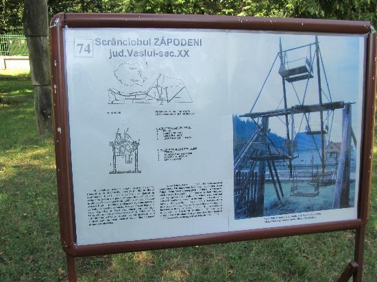 Village Museum (Muzeul Satului): Info about Ferris Wheel