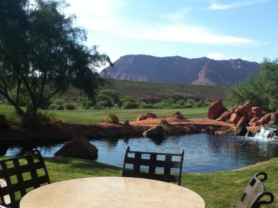 The Inn at Entrada: View from patio