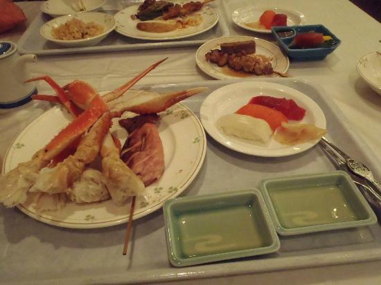 Yuzawa Toei Hotel: 夕食はバイキング