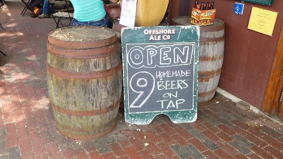 Offshore Ale Company : 9 bières sont produites sur place