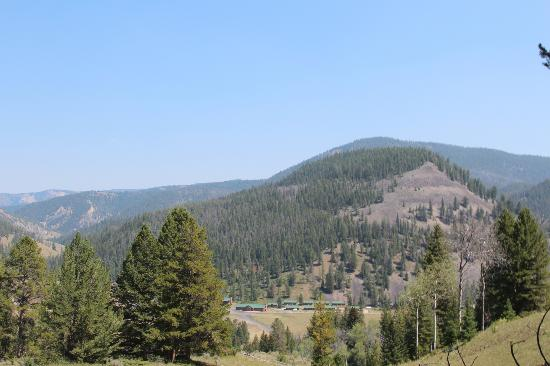 320 Guest Ranch : view from one of our rides