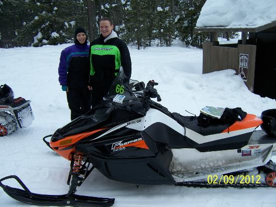 Holiday Inn - West Yellowstone: Great trails outside of Yellowstone