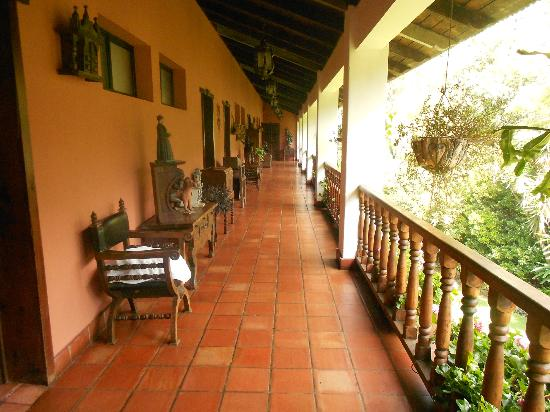 Hotel Atitlan: Hallway in 3rd floor