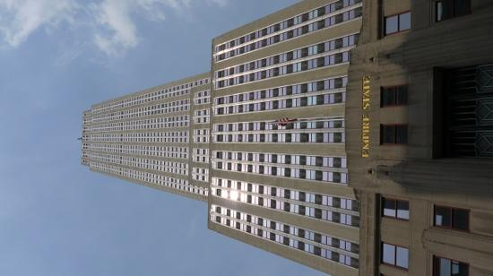 street view looking up Picture of Empire State Building New