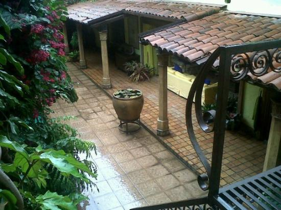 Your Host Inn Cuernavaca: View from the upstairs suite.