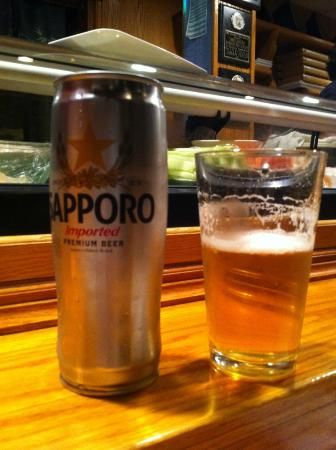 Three Samurai Japanese Restaurant : Great Beer #2