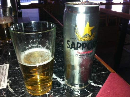 Three Samurai Japanese Restaurant : Great Beer ... #1