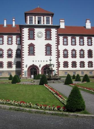 Schloss Elisabethenburg: Main Entrance to the Museum