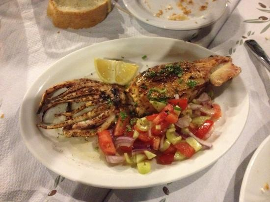 Tassia's Cooking: grilled squid