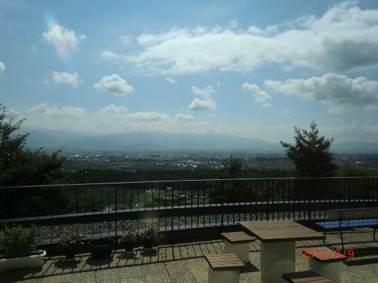 Fine View Muroyama: テラスから望む絶景
