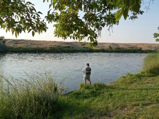 Red Butte Ranch: North Platte River running thru property