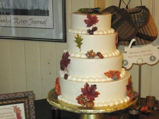 Sticky Fingers Bakery: Our Wedding Cake - 4 Tiers of Delicious Carrot Cake
