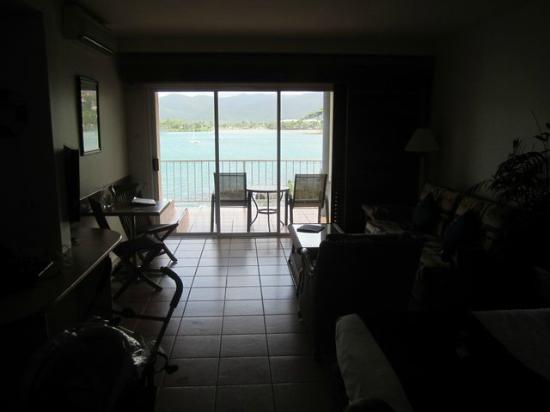 Coral Sea Resort: le coin salon