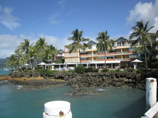 Coral Sea Resort: l'hotel de la jetée