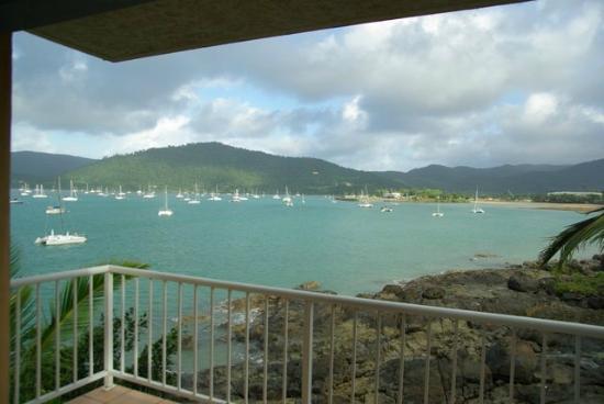 Coral Sea Resort: vue sur mer