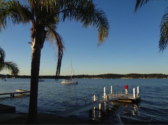Overnight Reflections: Lake view