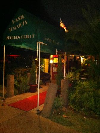 Basil Tomatoes Italian Grille: Front entrance