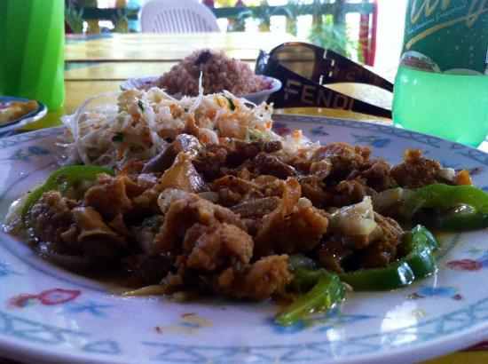 Shark's: Curry Conch