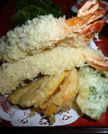 Ginza: Shrimp & Vegetable Tempura