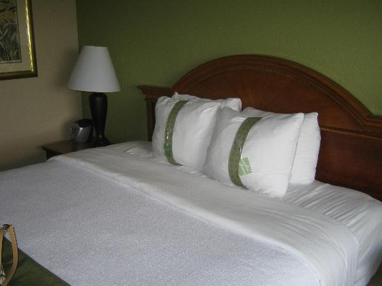 Holiday Inn Clark - Newark: Nice bed with pillows some firm and some soft !
