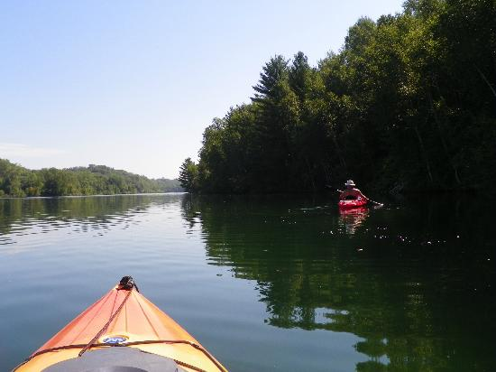 Ironton, MN: Kayaking on Huntington Mine