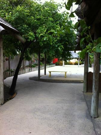 The Verandah Resort & Spa : Jeux en plein air