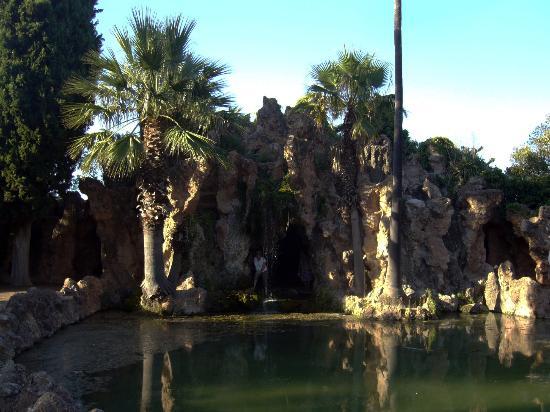Parc Samà: CANAL Y CASCADA