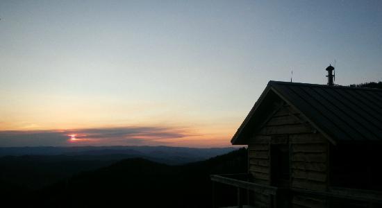 Altoona Ridge Lodge : Sunset