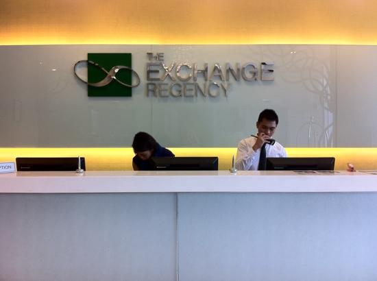 The Exchange Regency Residence Hotel: the lobby