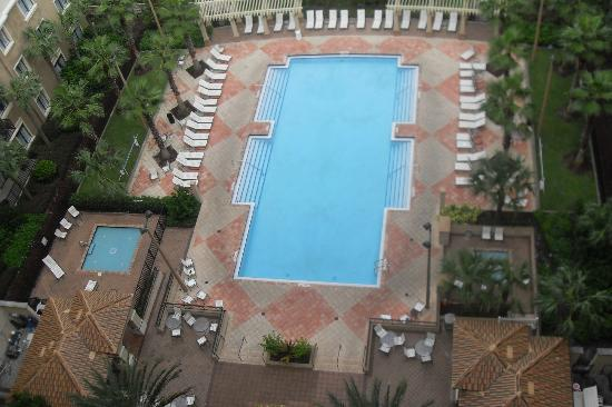 Lake Eve Resort: Pool Area from Above