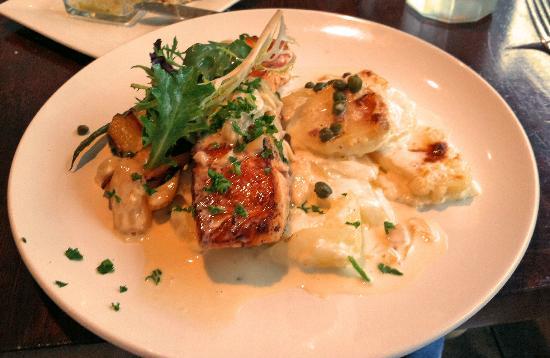 Restaurant Ducroix: Salmon