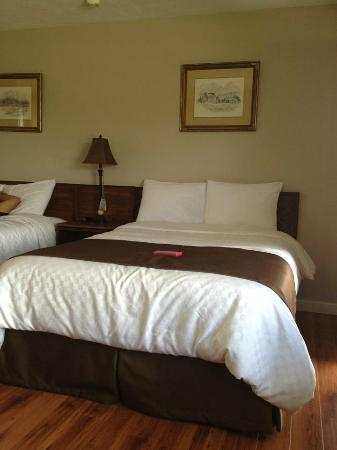 Coach House Inn: bed