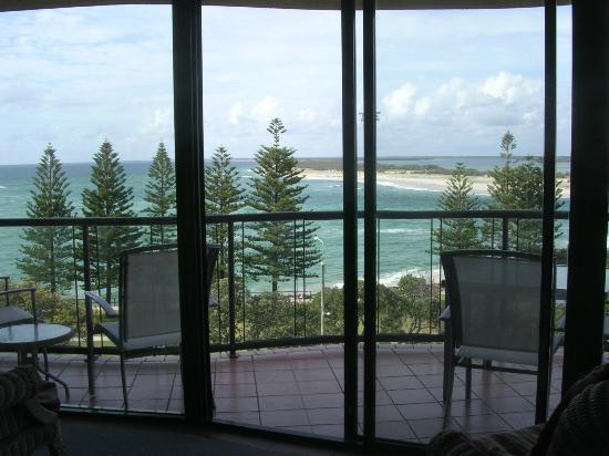 Waterview Resort: Front Balcony views Unit 12