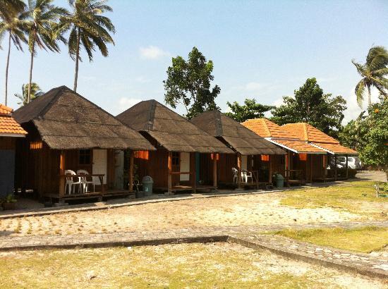 YY Resort and Restaurant : landed cottages
