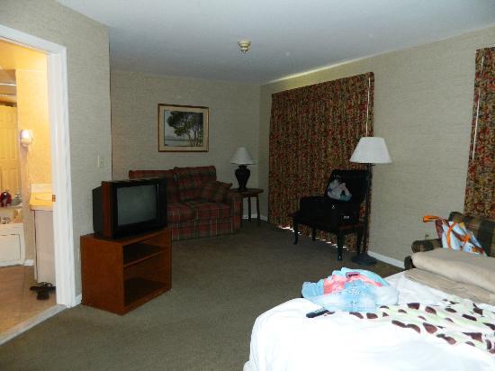 Pocono Mountain Villas: Master Bedroom Downstairs Fairway #3525