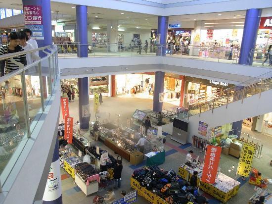 Aeon Mall Fukuoka : イオンモール福岡ルクル・2階より