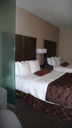 Comfort Suites Kelowna: One Queen and one double