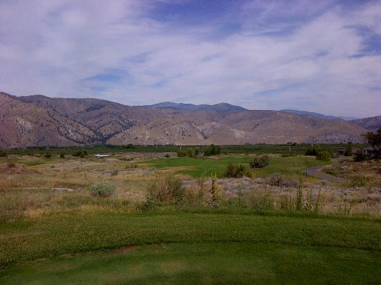 Desert Canyon Golf Resort: long drive
