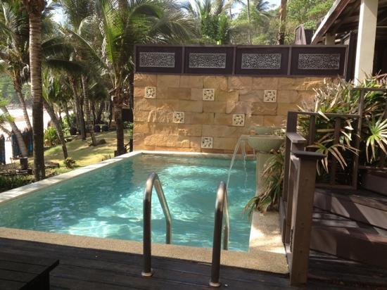 Andaman White Beach Resort: the pool villa