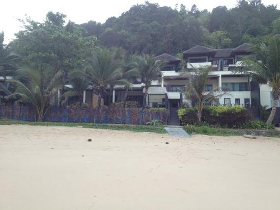 Andaman White Beach Resort: photo from the beach