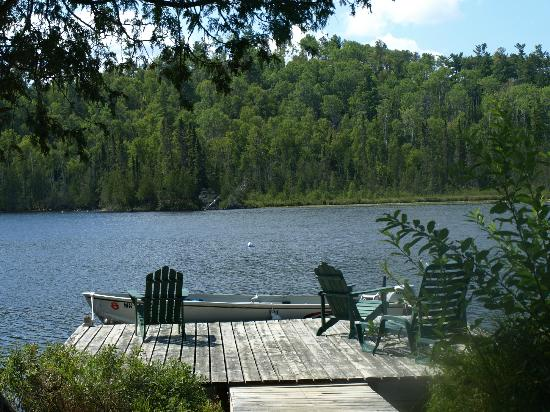 ‪‪Bearskin Lodge‬: View of private dock