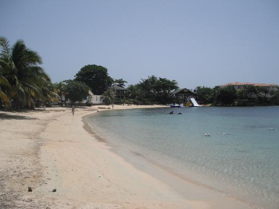 Posada Arco Iris : West End beach - just steps from the hotel