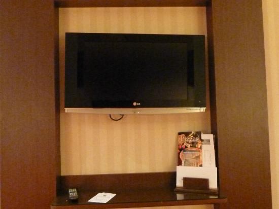 Barcelo Granada Congress: Mounted flat screen TV