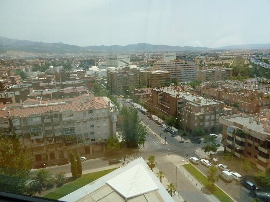 Barcelo Granada Congress: View from our hotel window
